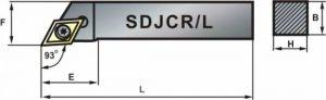 TOOLHOLDER - SDJCR/L